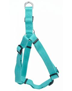 New Earth Soy Comfort Wrap Adjustable Harness Mint Dog 1X1PC 3/8x12-18in