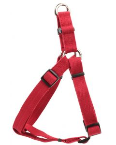 New Earth Soy Comfort Wrap Adjustable Dog Harness Cranberry Dog 1X1PC 3/4x20-30in