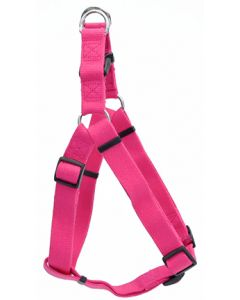 New Earth Soy Comfort Wrap Adjustable Dog Harness Fuchsia Dog 1X1PC 3/4x20-30in