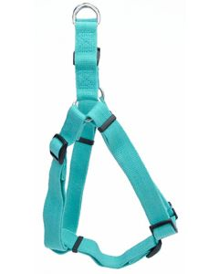 New Earth Soy Comfort Wrap Adjustable Dog Harness Mint Dog 1X1PC 3/4x20-30in