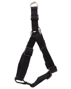 New Earth Soy Comfort Wrap Adjustable Dog Harness Onyx Dog 1X1PC 3/4x20-30in