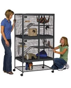 MID-WEST HOMES Critter Nation Double Unit Small Animal 1X1PC