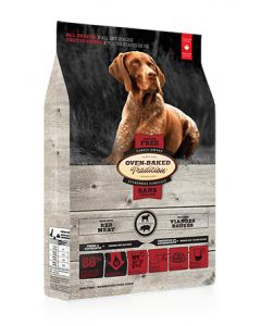 Oven Baked Tradition All Breeds All Life Stages Grain Free Red Meat Dog 1X25LB