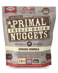 Primal Freeze Dried Venison Dog 1X14OZ