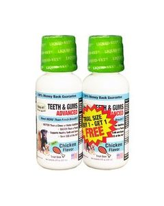 Cool Pet Teeth and Gums Advanced Chicken Dog 1X2X8OZ