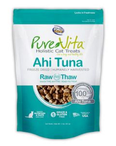 Pure Vita Freeze Dried Ahi Tuna Cat 1X1.1OZ