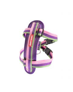 EzyDog Chest Plate Harness Bubble Gum Small Dog 1X1PC 14-24in