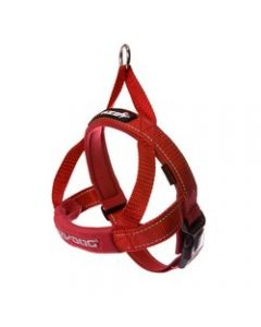 EzyDog Quick Fit Harness Red Large Dog 1X1PC 18-33in