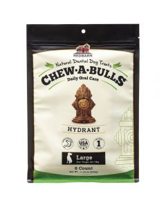 Red Barn Chew A Bulls Hydrant Large 6ct Dog 1X10PK