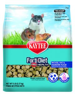 Kaytee Forti Diet Pro Health Mouse Rat Hamster Small Animal 1X5LB