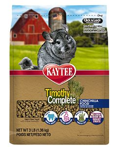 Kaytee Timothy Complete Cinchilla Small Animal 1X3LB