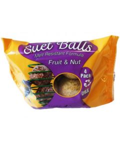 Topcrop Fruit and Nut Suet Balls Bird 1X454G