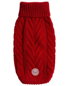 GF Pet Chalet Sweater Red Small Dog 1X1PC