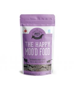 Granville Happy MooD Food Beef Liver Dehydrated Treats Dog 1X90G