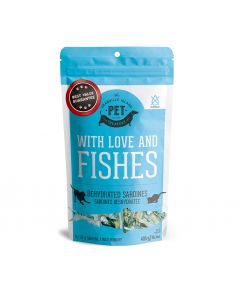Granville Dried Sardines With Love and Fishes Treats Dog 1X400G