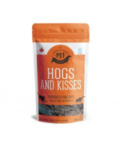 Granville Hogs and Kisses Pork Liver Dehydrated Treats Dog 1X90G