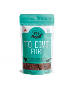 Granville To Dive For Salmon and Tuna Dehydrated Treats Dog 1X90G