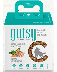 Gutsy Dehydrated Salmon and Trout Dinner Sample Dog 1X25X45G