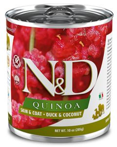 ND Quinoa Grain Free Skin and Coat Duck and Coconut Sample Dog 1X6X10.05Z