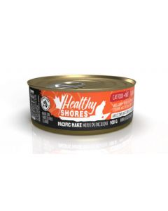 Healthy Shores Hake Pate Cat 1X24X100G