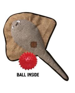 Snugarooz Sally the Stingray with Rubber Spikey Ball Dog 1X1PC 21in