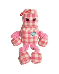 Snugarooz Rosie the Robot with Bungee Arms and Legs Dog 1X1PC 13in