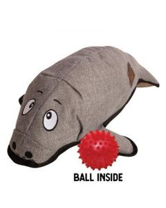 Snugarooz Murray the Manatee with Rubber Spikey Ball Dog 1X1PC 21in