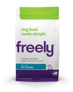 Freely Whole Grain Turkey for Puppies Dog 1X10LB
