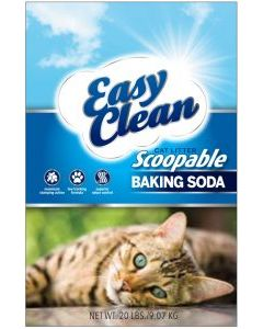 PESTELL Easy Clean Clumping Litter with Baking Soda Cat 1X20LB