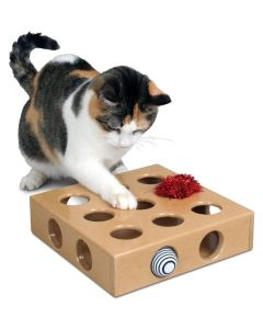 Smart Cat Peek and Play Toy Box with 2 Toys Cat 1X1PC