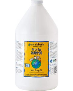 EARTHBATH Sweet Orange Oil Degrease for Dirty Dogs Dog 1X1GAL