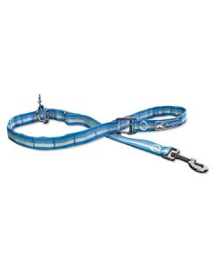 Kurgo RSG Stub Leash Coastal Blue Charcoal Grey Dog 1X1PC