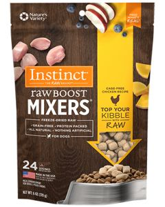 NATURE'S VARIETY Instinct Raw Boost Mixers Cage Free Chicken Dog 1X6OZ