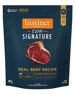 NATURE'S VARIETY Raw Signature Real Beef Medallions Dog 1X3LB