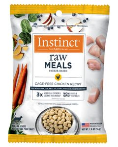 NATURE'S VARIETY Instinct Raw Freeze Dried Meals Real Chicken Cat 1X2OZ