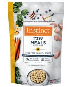 NATURE'S VARIETY Instinct Raw Freeze Dried Meals Real Chicken Cat 1X9.5OZ