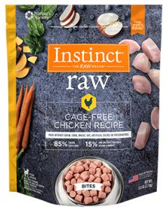NATURE'S VARIETY Cage Free Chicken Bites Dog 1X6LB