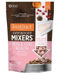 NATURE'S VARIETY InstinctRawBoostMixers Grn Fr Skin and Coat Topper Dog 1X32X1OZ