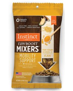 Instinct Raw Boost Mixer Grain Free Mobility Support Topper Dog 1X32X0.75Z