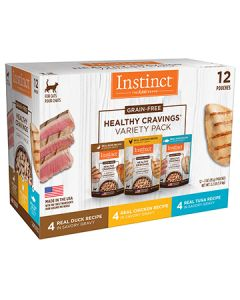 NATURE'S VARIETY Instinct Healthy Cravings Pouches Variety Pack Cat 1X12X3OZ