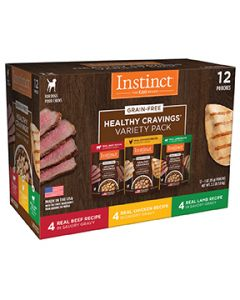 Instinct Healthy Cravings Pouches Variety Pack Dog 1X12X3OZ
