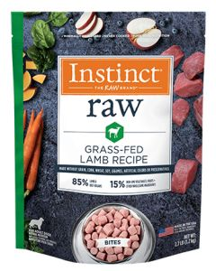 NATURE'S VARIETY Grass Fed Lamb Bites Dog 1X2.7LB