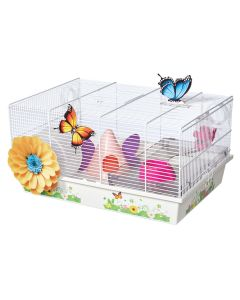 MID-WEST HOMES Butterfly Hamster Home Small Animal 1X1PC