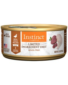 NATURE'S VARIETY Instinct LID with Real Duck Cat 1X12X5.5OZ