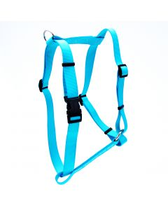 COASTAL Standard Adjustable Nylon Harness Teal Dog 1X1PC 3/8x10-18in