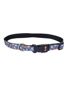 Pet Attire Exclusive Styles Collar Foxes Dog 1X1PC 5/8x10-14in