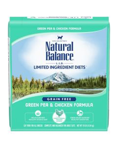 Natural Balance LID Grain Free Pea and Chicken Cat 1X10LB
