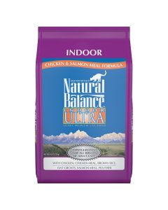 Natural Balance Indoor Ultra Chicken and  Salmon Cat 1X6LB