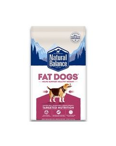 Natural Balance Fat Dogs Chicken and Salmon Low Calorie Sample Dog 1X25X4OZ
