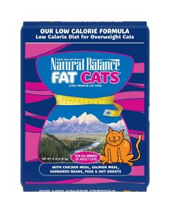 Natural Balance Fat Cats Chicken and Salmon Low Calorie Cat 1X15LB
